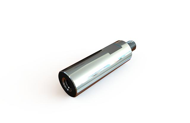 ГОСТ 20863-81 стойка установочная крепежная круглая с лысками с резьбовыми концом и отверстием