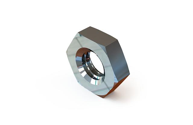 ГОСТ 5916-70 гайка шестигранная низкая класса точности В