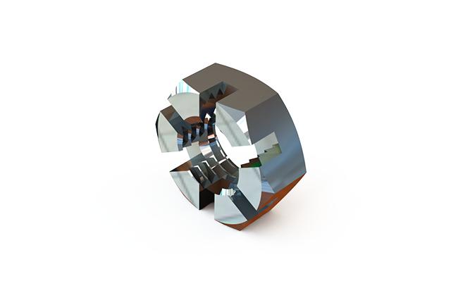 ГОСТ 5919-73 гайка шестигранная прорезная и корончатая низкая класса точности В